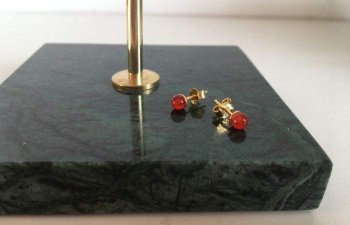 Ørestik med perle