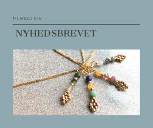 håndlavede smykker, emmas, nyhedsbrev